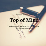 Top of Mind: Must-Reads for the Week of May 22, 2017
