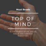 Top of Mind Must Reads for the Week of June 19, 2017