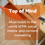 Top of Mind: Structuring Content, Graphic Design, and Sassiness