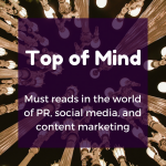 Top of Mind: Public Failure, Captivating Stories, and What Not To Do on Twitter