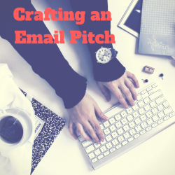 Crafting an email pitch