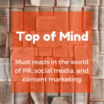 Top of Mind: The Best Article, LinkedIn Features, and Women's Events