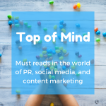 Top of Mind: PR with Influencers, SEO, and Cryptocurrency