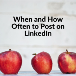 When and How Often to Post